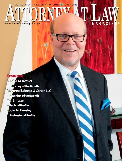 Attorney at Law Kessler Cover