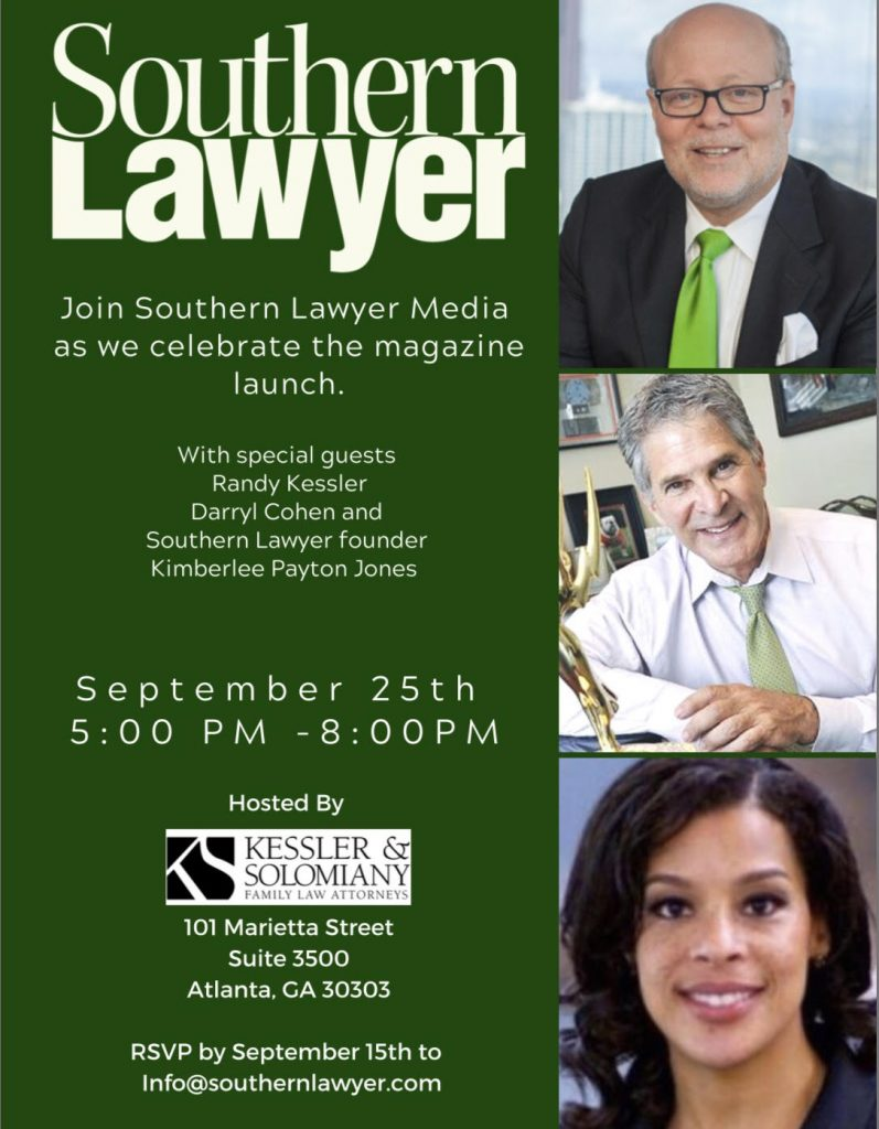 southern lawyer magazine launch party information